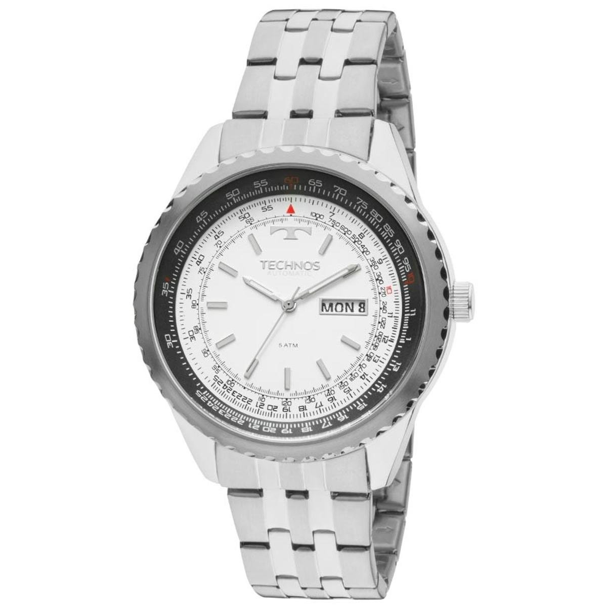 9e779cfcda1 Relógio Technos Automático 8205NM 1B - Única - Compre Agora