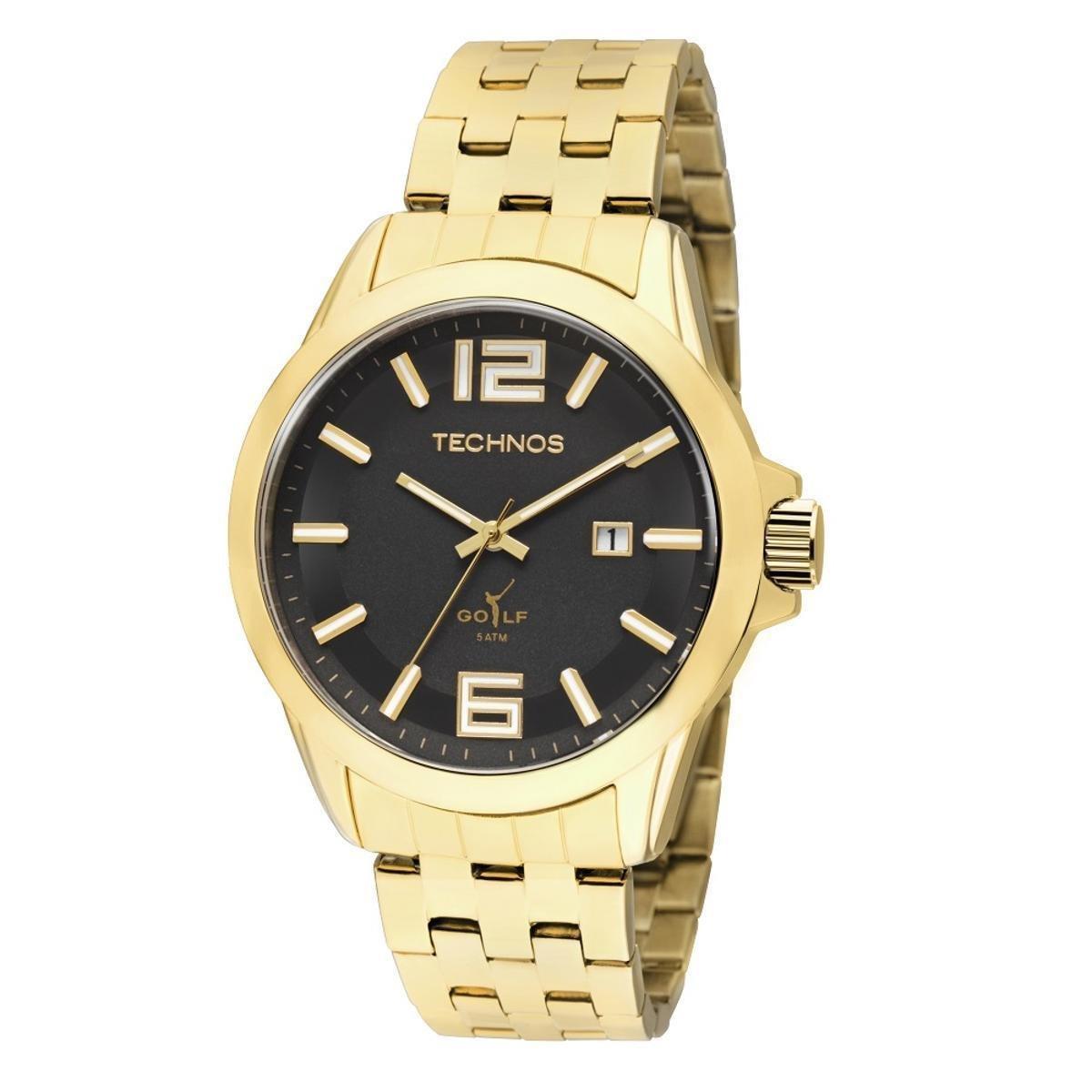 659751fb2ae Relógio Technos Classic Golf - Dourado - Compre Agora