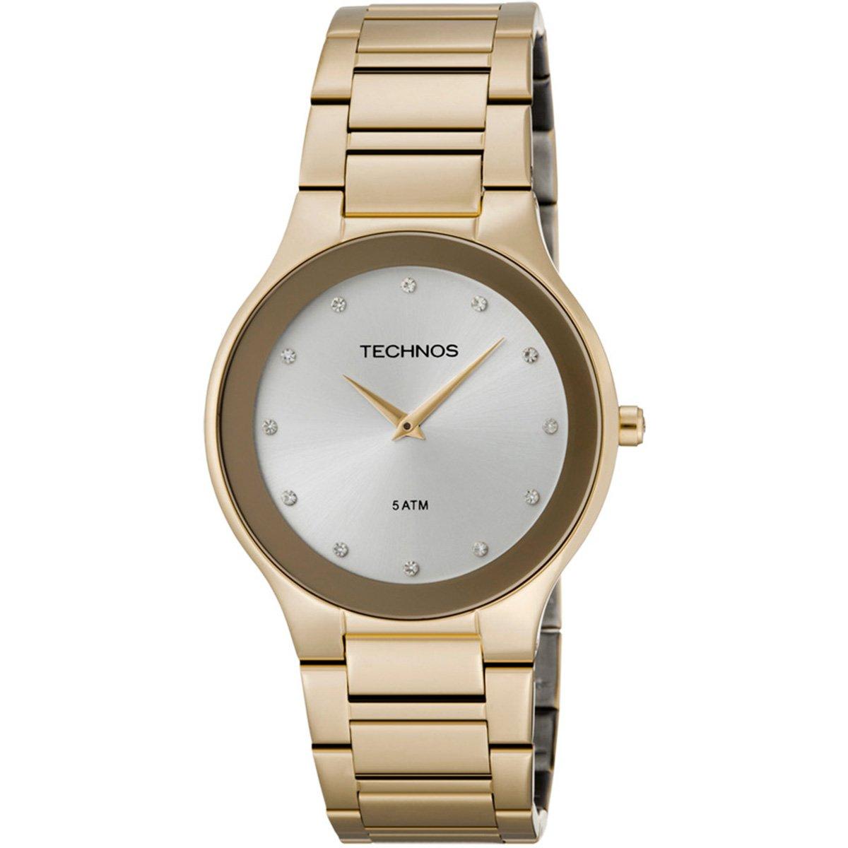79cd088d2b6 Relógio Technos Classic Slim - Dourado - Compre Agora