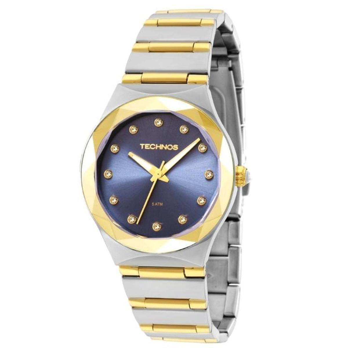 328a9ea4eb8 Relógio Technos Elegance Crystal Swarovski 2035MFI 5A - Compre Agora ...