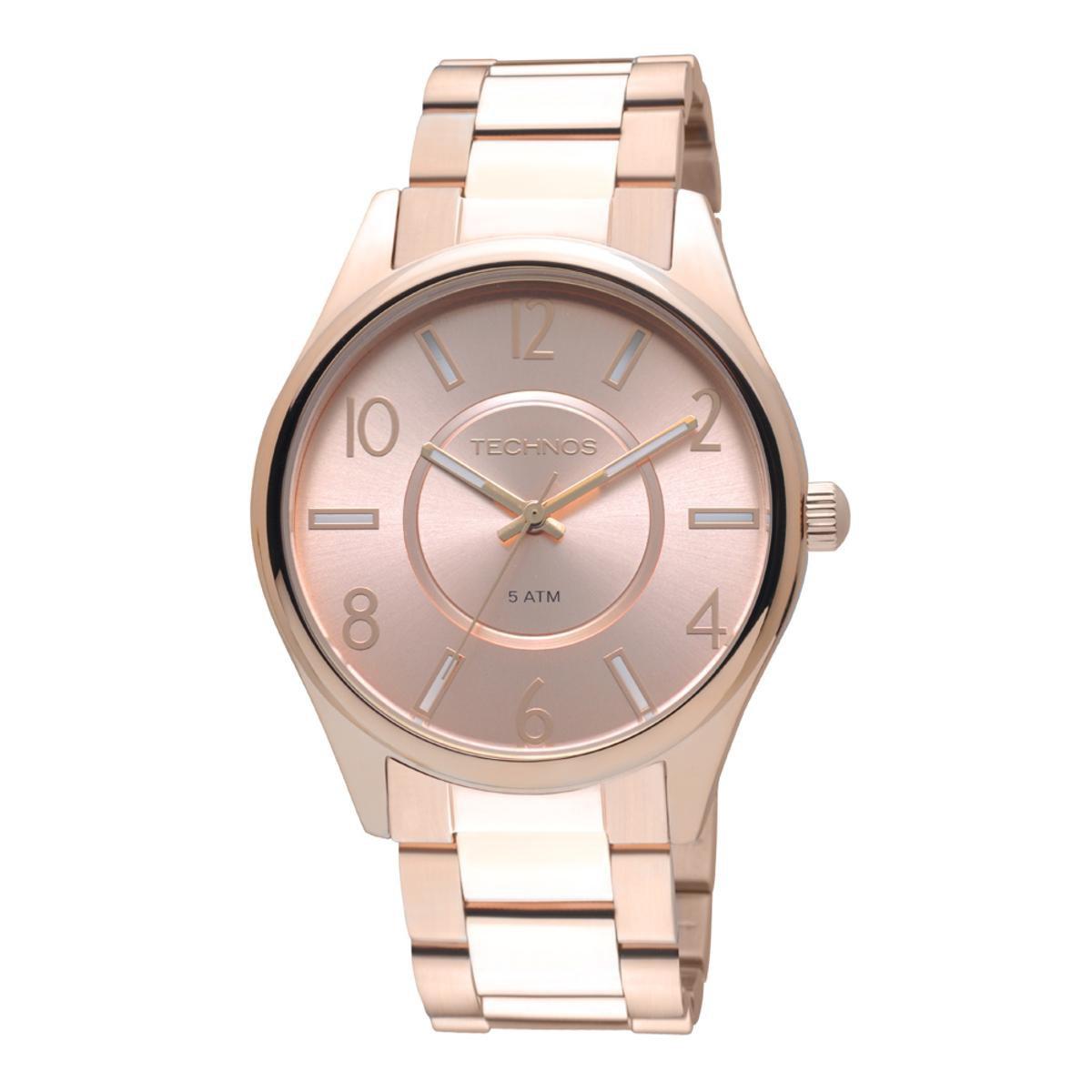Relógio Technos Feminino Analógico Gold 2035LPI 4T 2035LPI 4T ... c0330e8b77