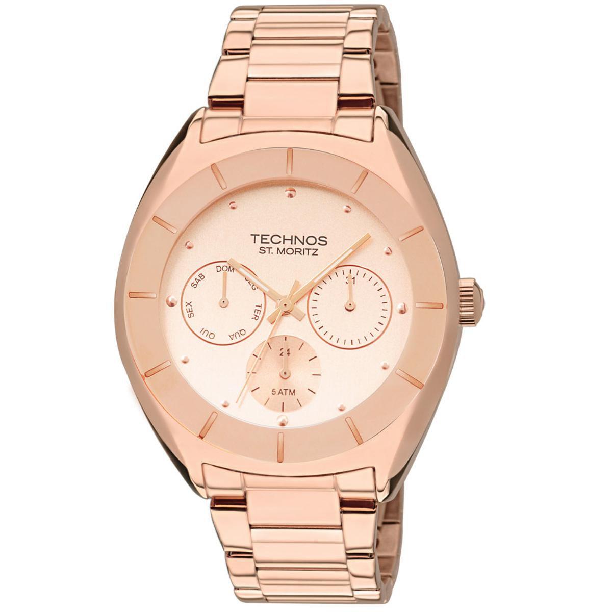 21f36a7a03b Relógio Technos Feminino Rose Gold - 6P29AEZ 4T 6P29AEZ 4T - Compre Agora