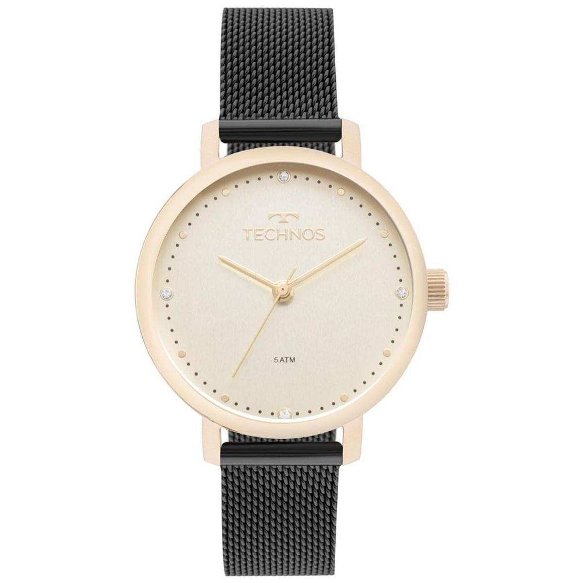 bdb0070929c1b Relógio Technos Feminino Trend Bicolor - 2035MML 5X 2035MML 5X - Compre  Agora