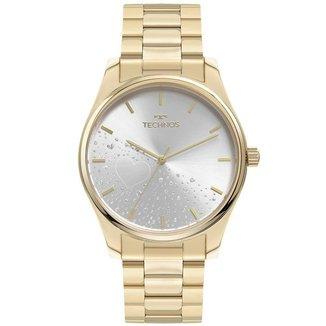 Relógio Technos Feminino Trend Dourado 2036MOH1K