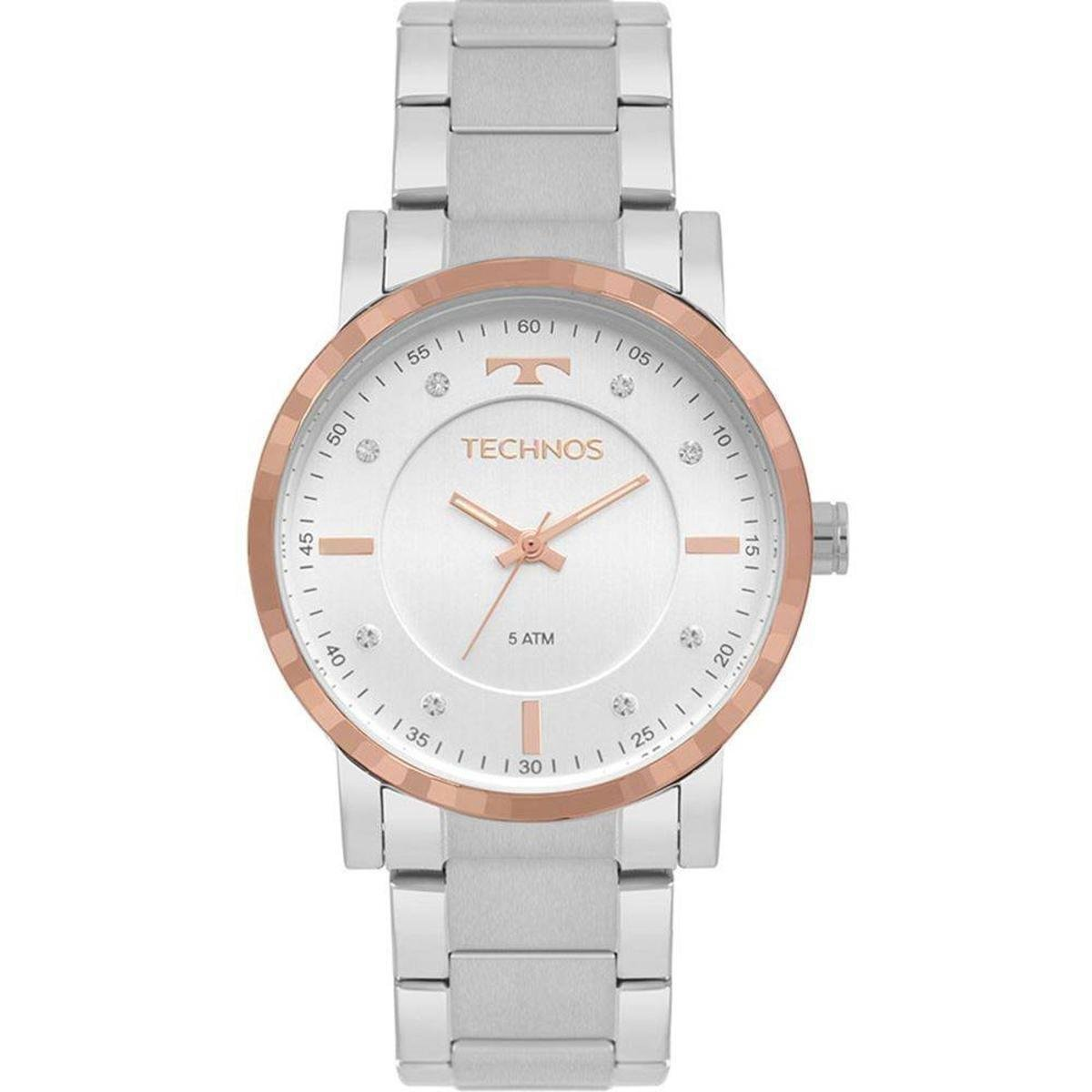 528a413a0c4 Relógio Technos Feminino Trend - Prata - Compre Agora