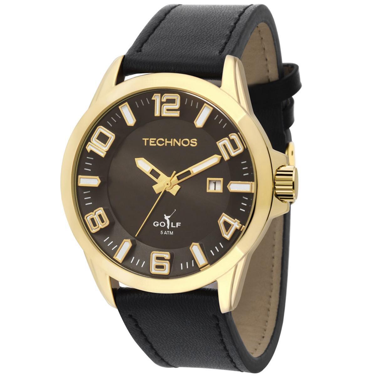 12c77028a8203 Relógio Technos Golf Masculino Analógico - 2115KQT 2P 2115KQT 2P ...