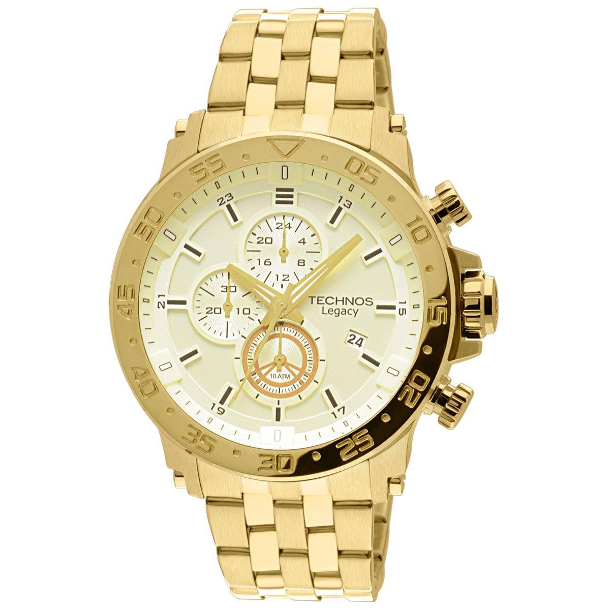 0cd3bd5c71b Relógio Technos Legacy - Dourado - Compre Agora