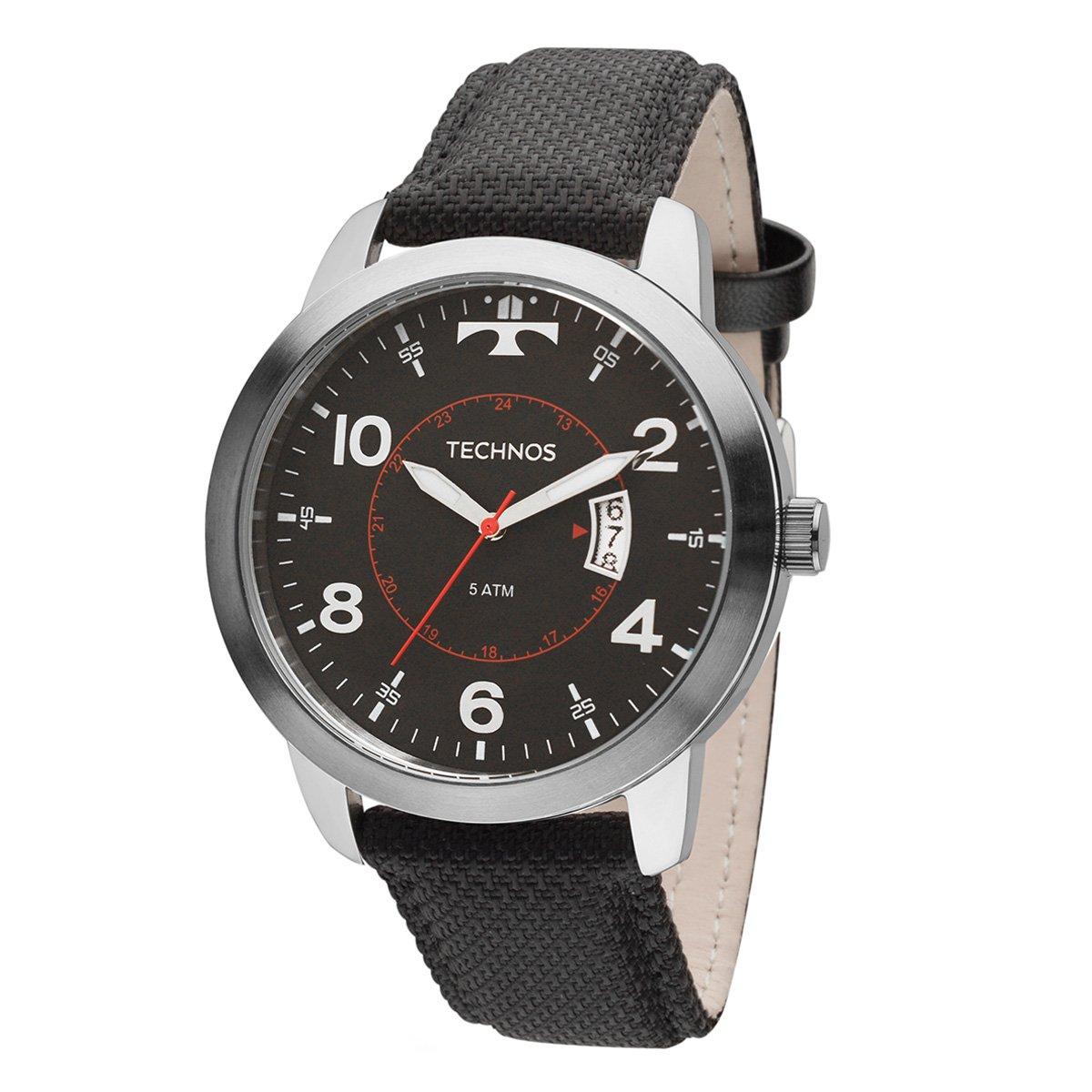 d5f30ff302d Relógio Technos Masculino 2115LAE8P - Compre Agora