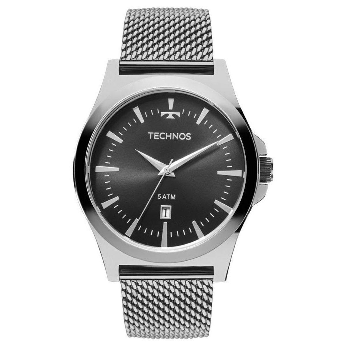 c6958535a44 Relógio Technos Masculino 2115LAL 0P - Prata - Compre Agora