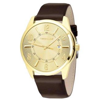 Relógio Technos Masculino  Dourado Analógico 2115TE0X