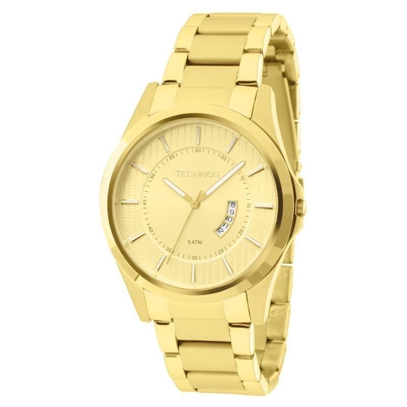 54a771fefa1 Relógio Technos Masculino - GN10AR-4X - Dourado - Compre Agora ...