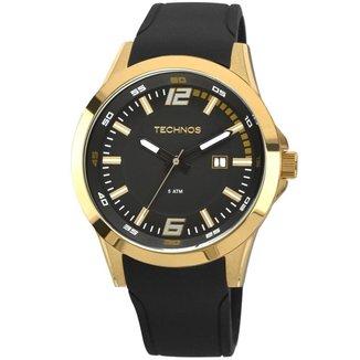 Relógio Technos Masculino Racer Dourado 2115KPU8P