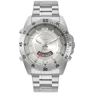 Relógio Technos Masculino Skydiver Prata T205JK/1K T205JK/1K