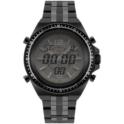 Relógio Technos Performance TS 2035MSC/4B 48mm Aço Masculino - Masculino