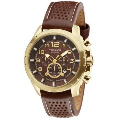 Relógio Technos Skymaster Masculino JS25BG/0M Dourado JS25BG/0M - Masculino