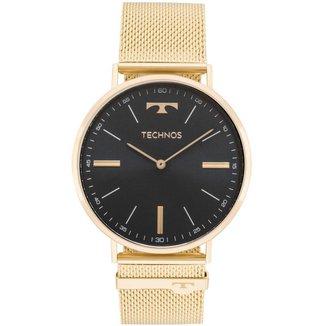 Relógio Technos Slim Dourado 2025LTJS4P Masculino