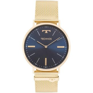 Relógio Technos Slim Dourado 2025LTKS4A Masculino