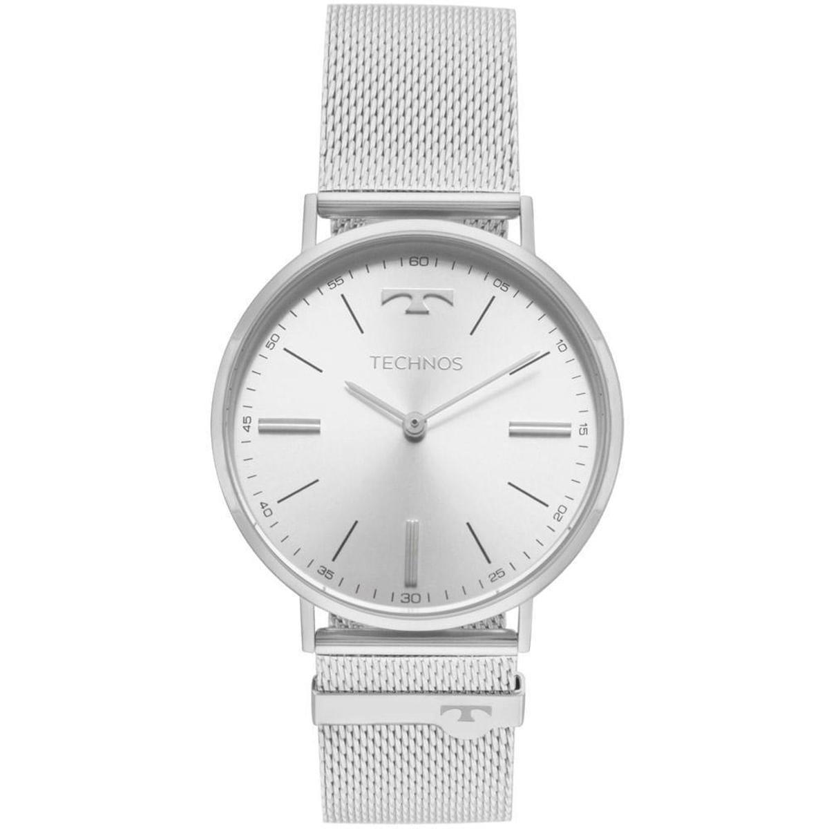 018459ffc3919 Relógio Technos Unissex Classic Slim - 2025LTL 1K 2025LTL 1K - Compre Agora