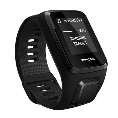 Relógio TomTom Spark 3 Cardio Music com GPS, à Prova d'água, Bluetooth e 3GB Preto Small Preto Small