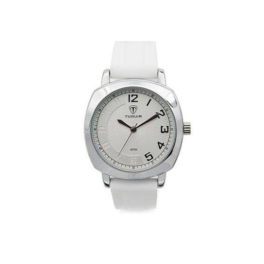 Relógio Tuguir Analógico 5015 - Branco