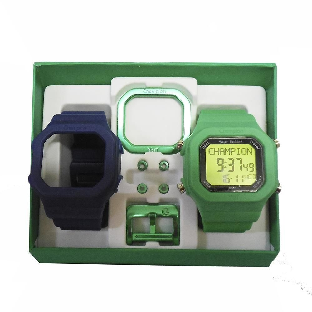 2ead0bc97ae Relógio Unissex Champion Digital Cp40180x Troca Pulseira - Compre Agora