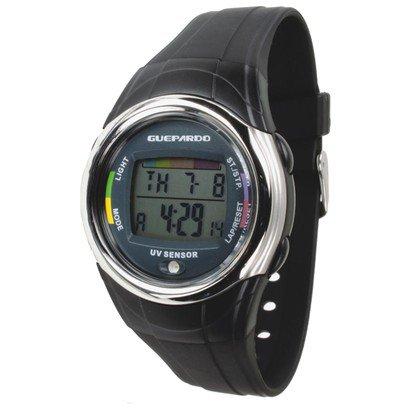 Relógio UV Guepardo Master - Unissex - Preto