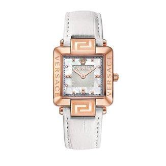 Relógio Versace Safira Diamantes 0,02ct Madrepérola Casual