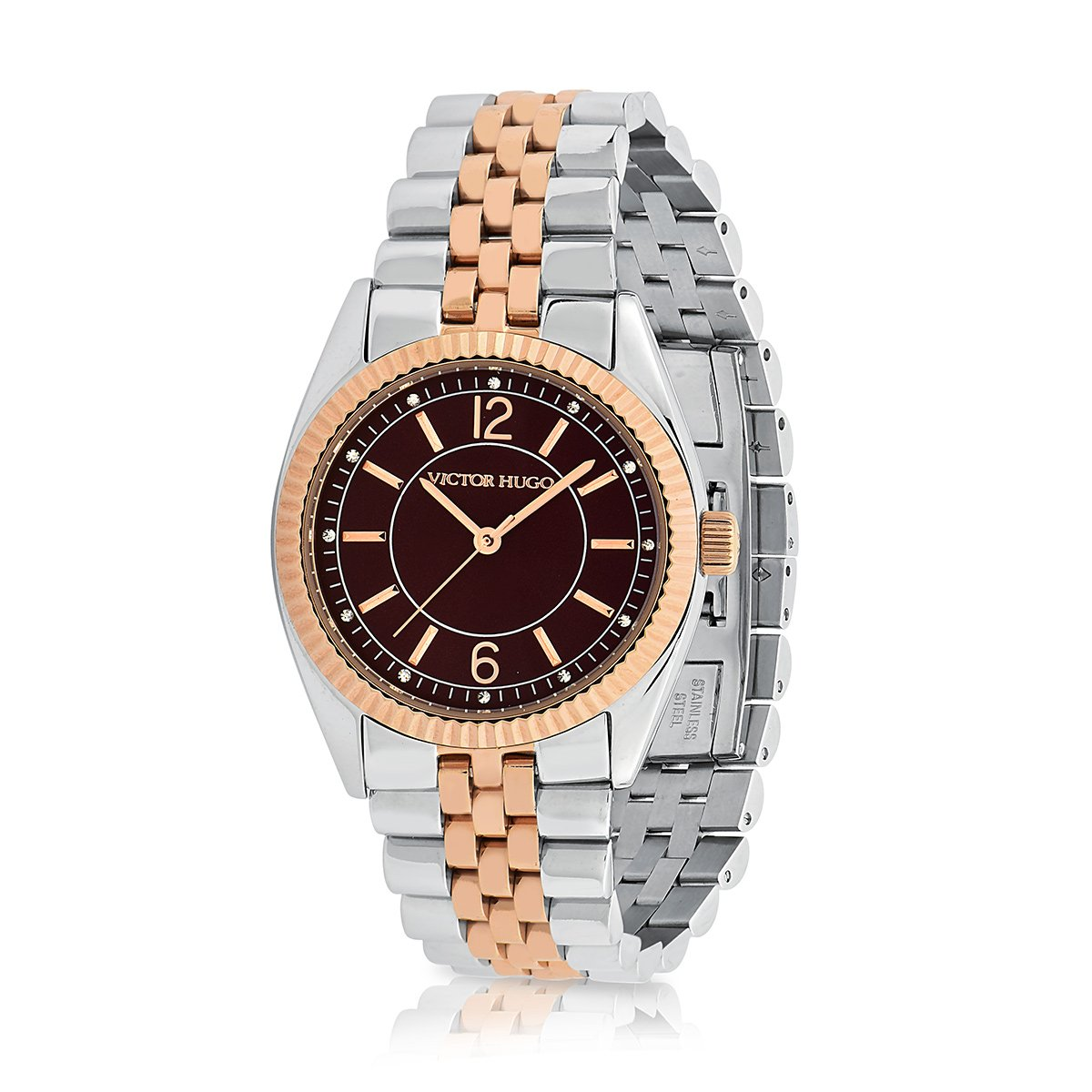 544d8e220e7 Relógio Victor Hugo 10156LSSR 12M - Prata - Compre Agora