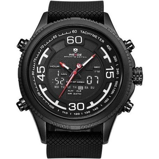 Relógio Weide Anadigi 10321 Masculino - Preto