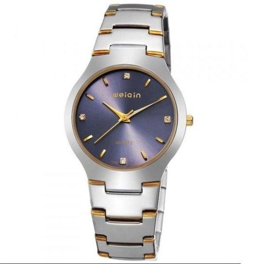 Relógio Weiqin Analógico W4164G - Prata