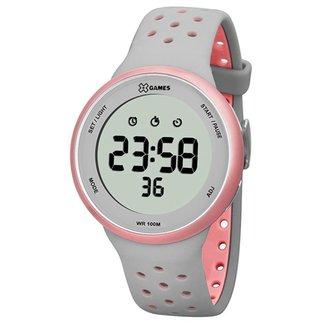 Relógio X-Games Feminino Xtyle Cinza XFPPD039-BXGR
