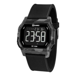 Relógio X-Games Masculino Xcamo Preto XGPPD135-PXPX