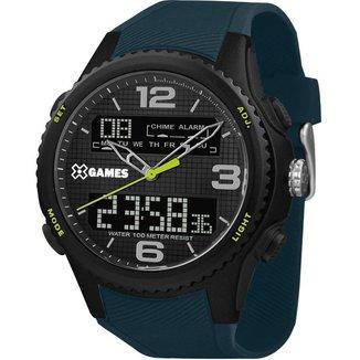 Relógio X-Games Masculino Xport Preto XMPPA284-P2DX