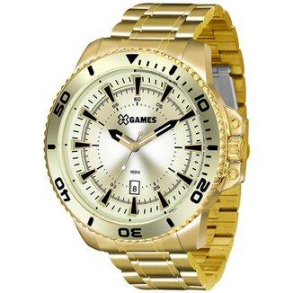 Relógio X-Games Masculino Xteel Dourado XMGS1024-C2KX
