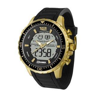 Relógio X-Games Masculino Xteel Preto XMGPA005-BXPX