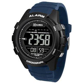 Relógio X-Games Masculino Xtyle Azul XMPPD530-PXDX