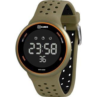 Relógio X-Games Unissex Xport Verde XMPPD628-PXEX