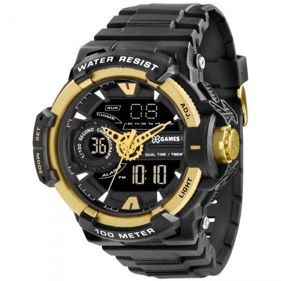 ec3b5795a87 Relógio XGames XMPPA164 PXPX - Preto. até 6x de R  40