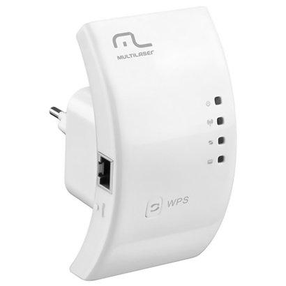 Repetidor Expansor De Sinal Wifi Multilaser Wireless 300mbps Re051 Wps Aproveite essa oferta e aumente o sinal de sua re...