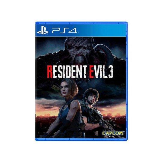 Resident Evil 3 - Azul+Preto
