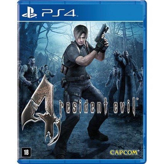 Resident Evil 4 Remastered - PS4 - Incolor
