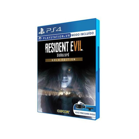 Resident Evil 7 Biohazard Gold Edition para PS4 - Incolor