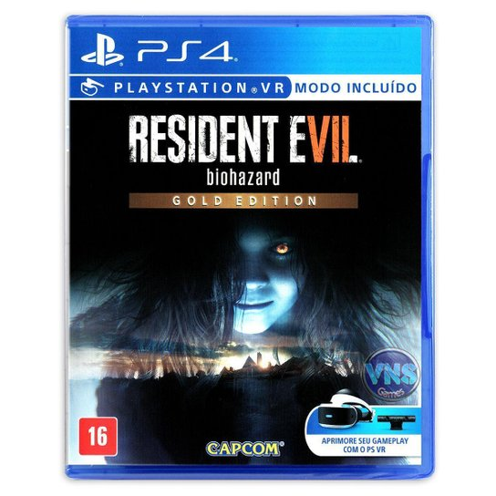 Resident Evil 7 biohazard - Gold Edition - PS4 - Incolor