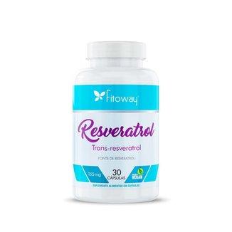 Resveratrol 165mg 30 Cápsulas FTW