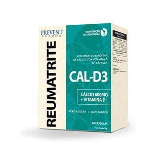 Reumatrite CAL-D3 600mg/5mcg c/60 Cápsulas Prevent Pharma