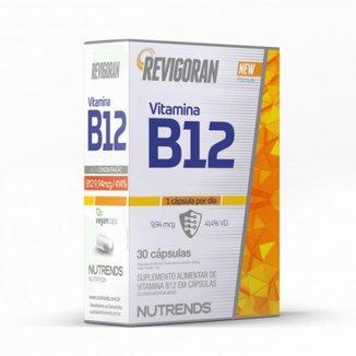Revigoran Vitamina B12 Nutrends 30 Cápsulas