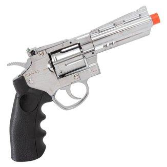 Revolver de Airsoft CO2 QGK TITAN 4 S Full Metal 385 FPS - QGK