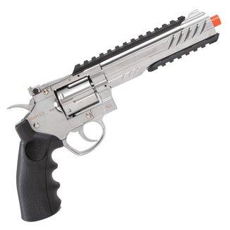 Revolver de Airsoft CO2 QGK TITAN 6 S Full Metal 432 FPS - QGK