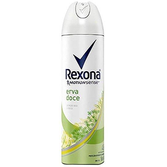 Rexona Desodorante Aerosol Antitranspirante Erva Doce Feminino 150ml - Incolor