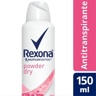 Rexona Desodorante Aerosol Antitranspirante Powder Dry Feminino 150ml